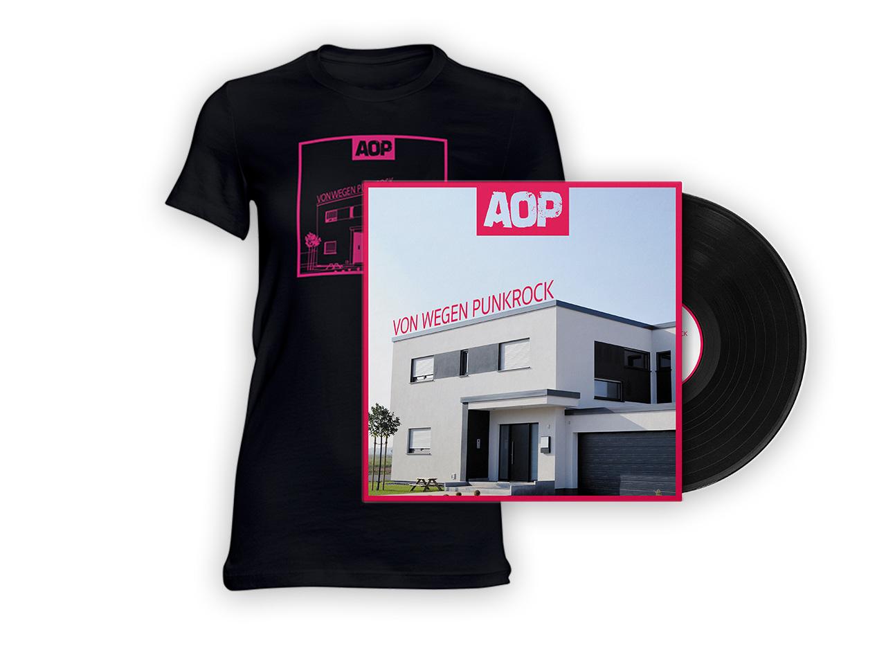 AOP – Album – Von wegen Punkrock – Vinyl + Girlie-Shirt Bundle