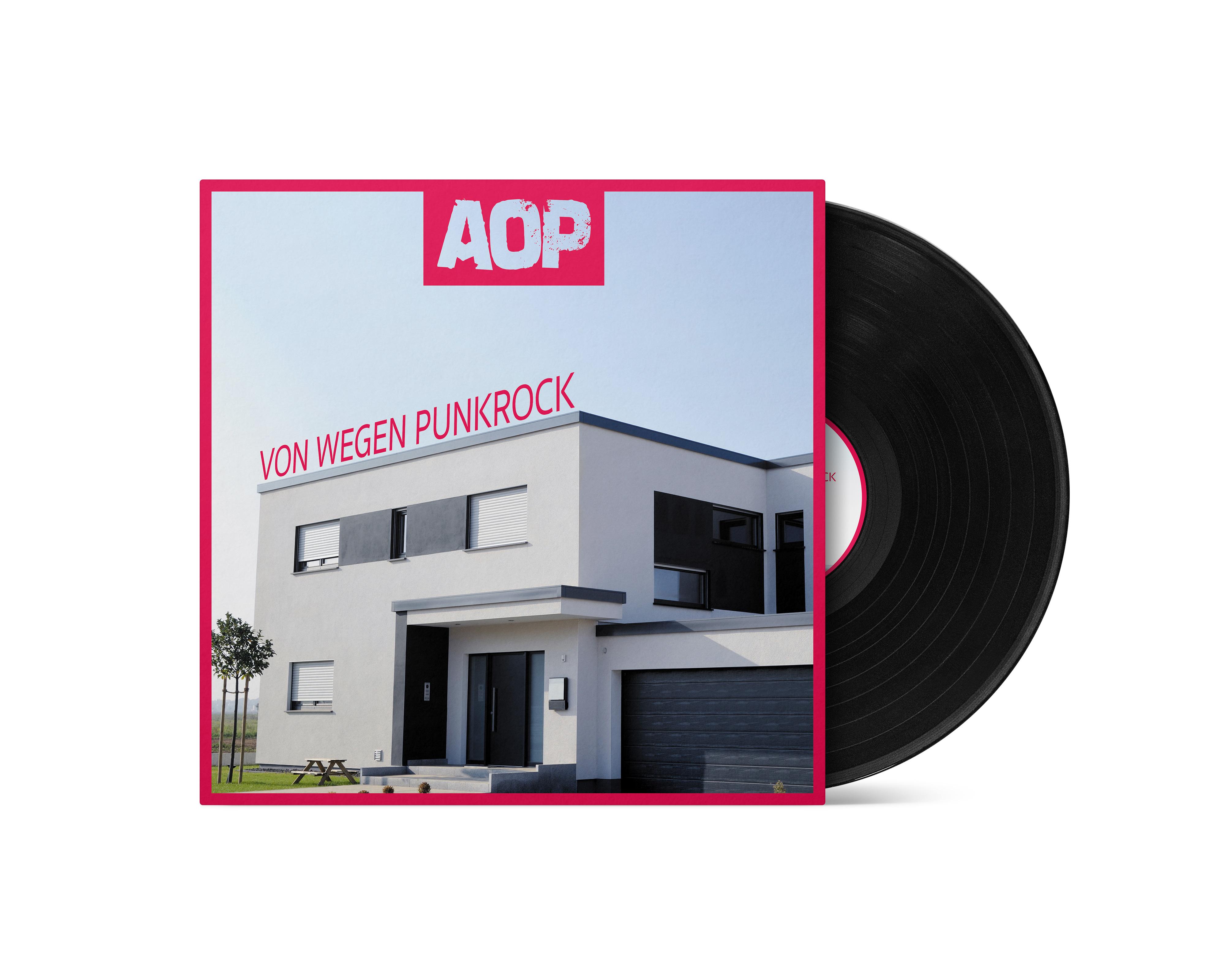 AOP – Album – Von wegen Punkrock – Vinyl