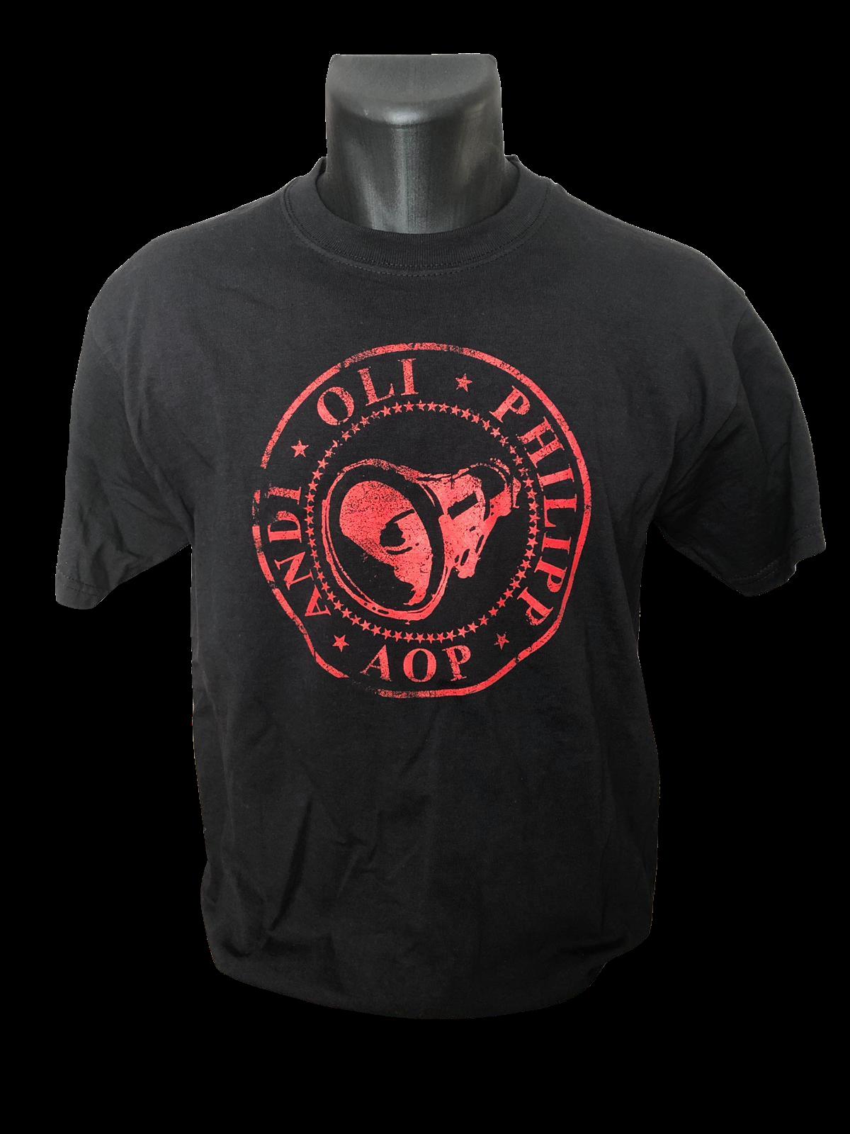 AOP – Kreis – T-Shirt