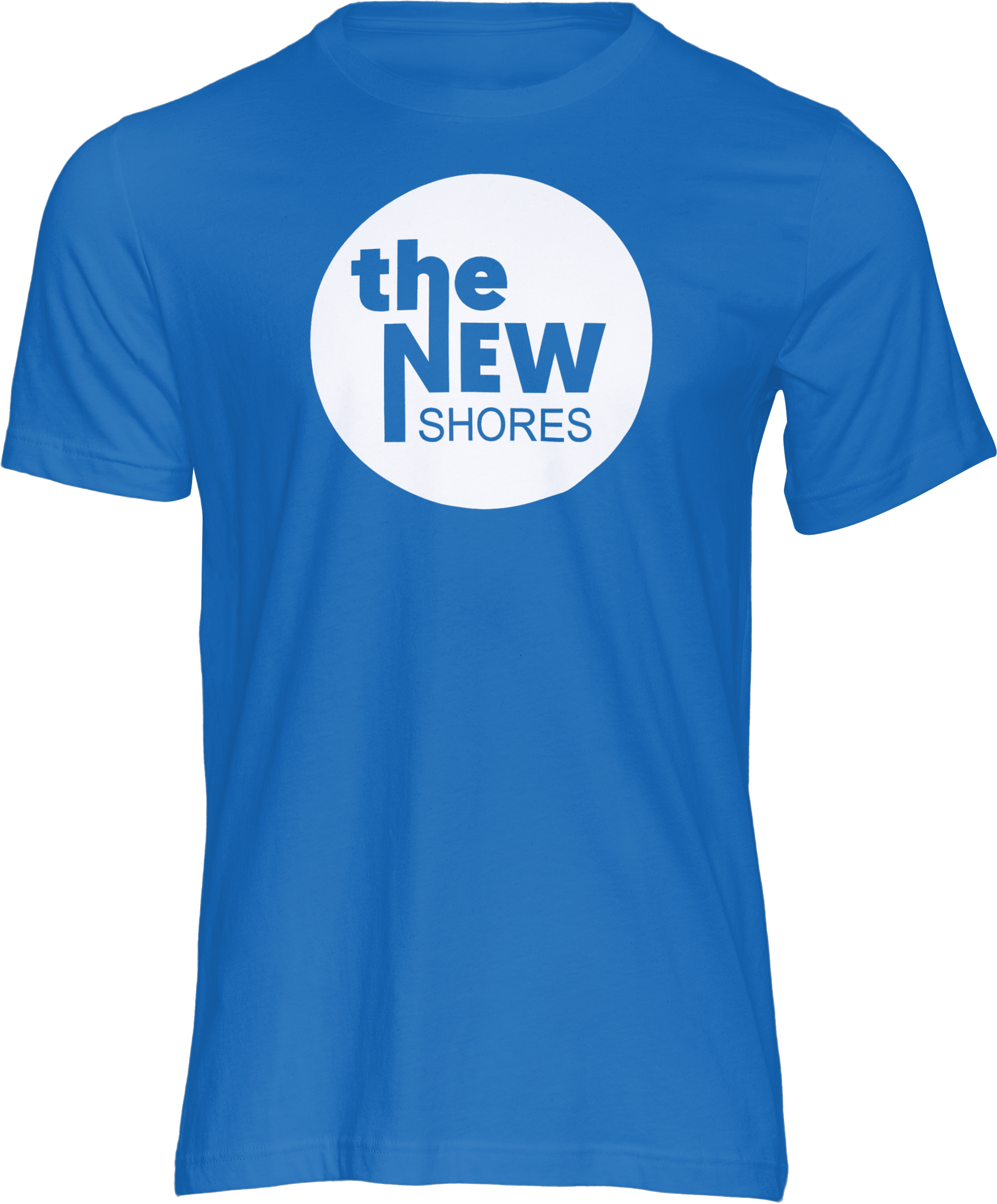 The New Shores – TNS Logo – T-Shirt (blau)