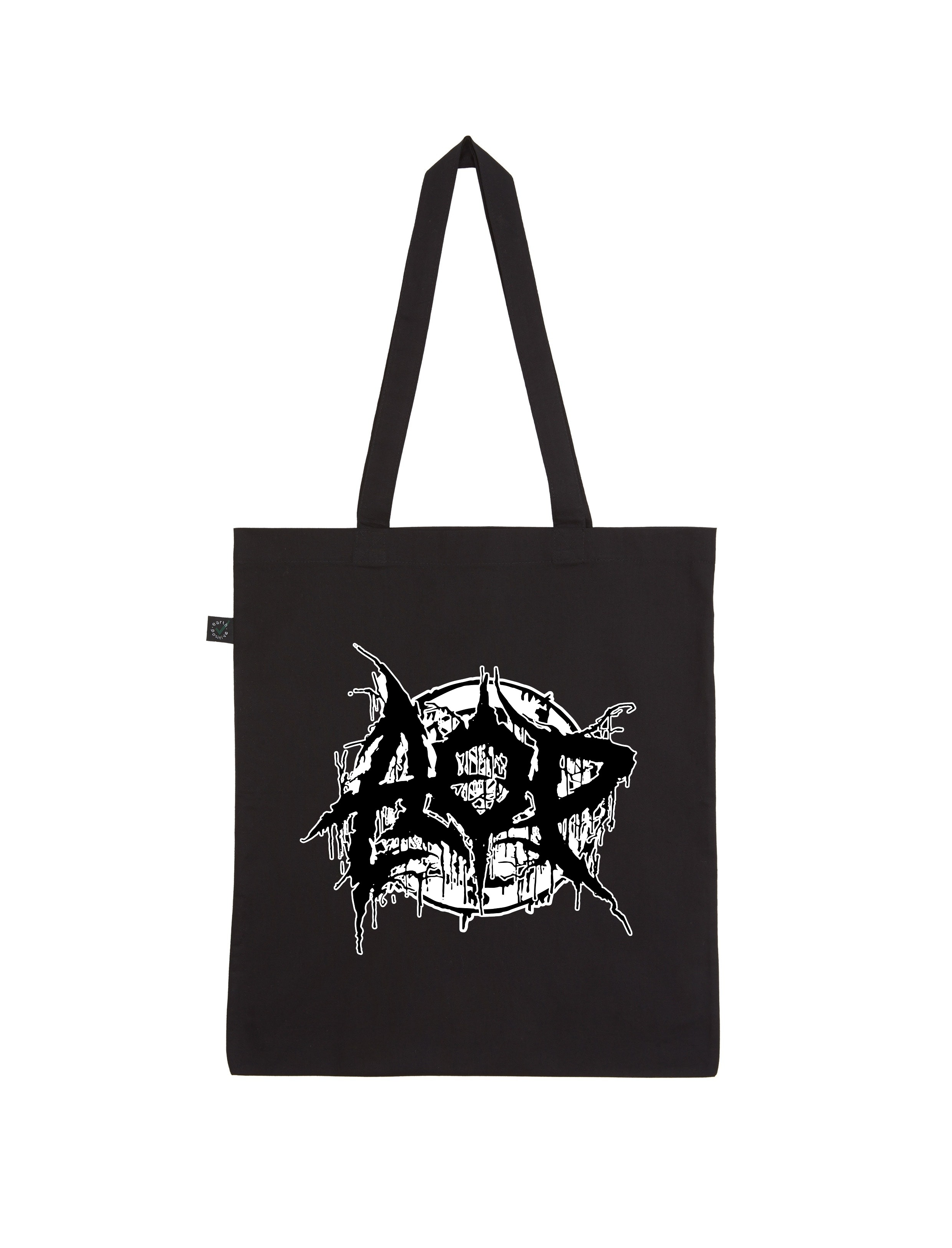 AOP – Deathmetal – Shopper-Bag (schwarz)