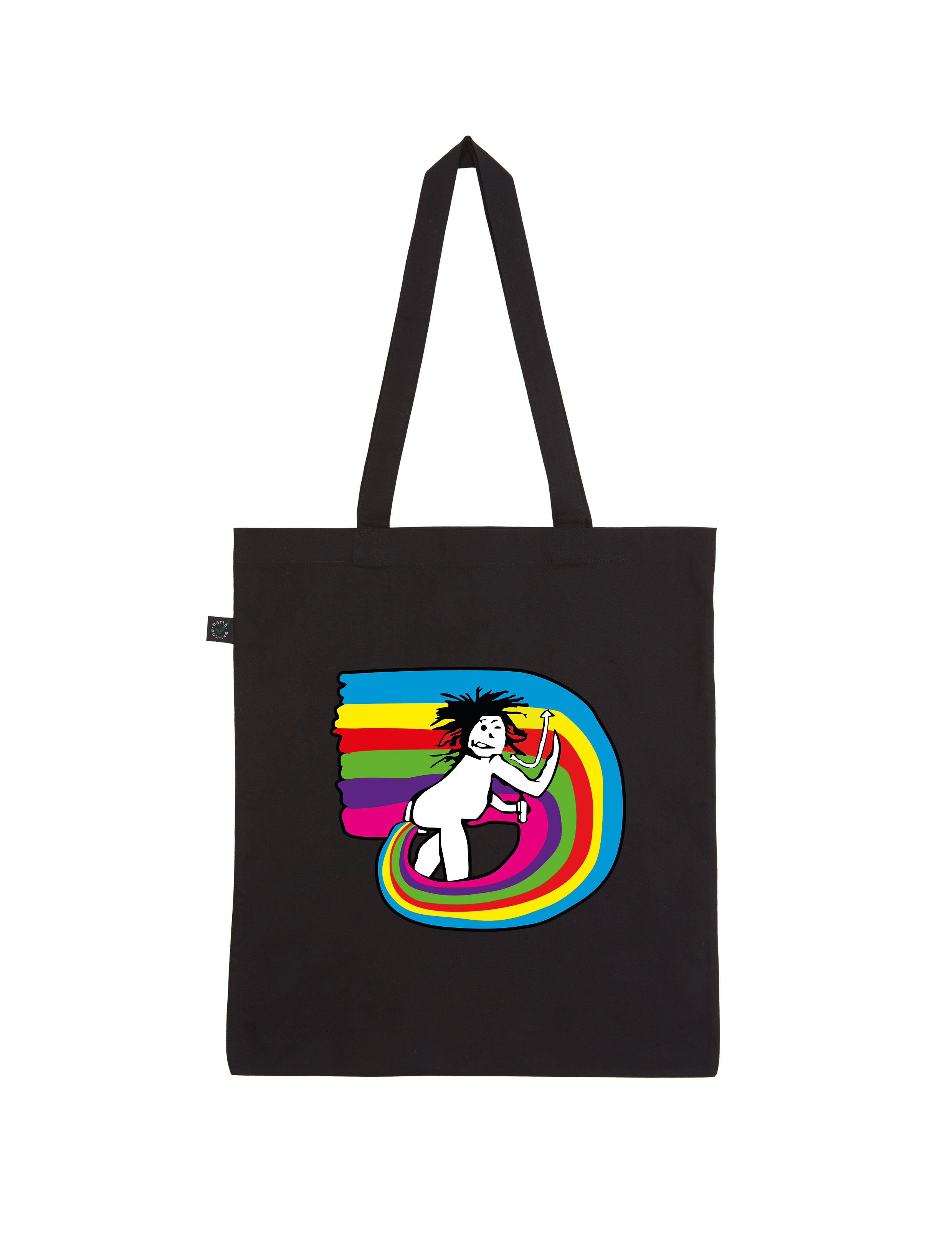 The New Shores – New Shores Feeling – Shopper-Bag (schwarz)