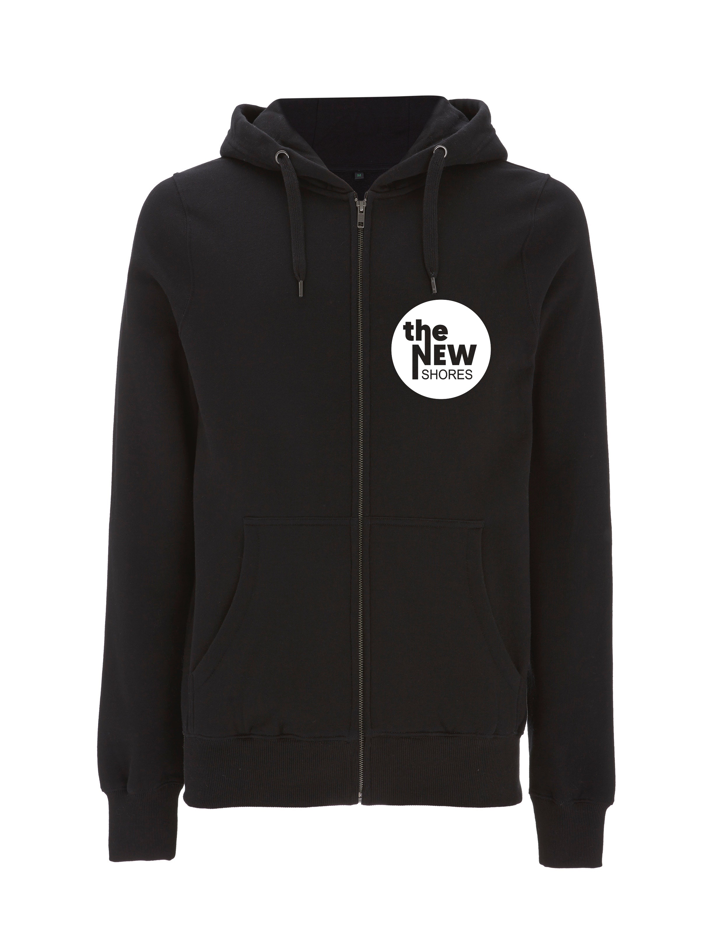 The New Shores – TNS Logo – Zip-Jacke (schwarz)