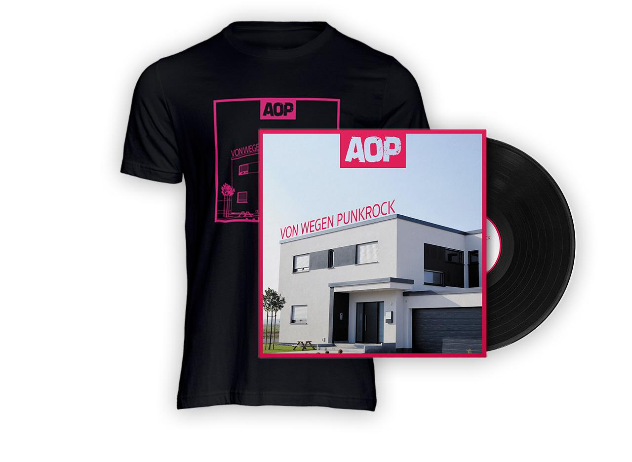 AOP – Album – Von wegen Punkrock – Vinyl + T-Shirt Bundle