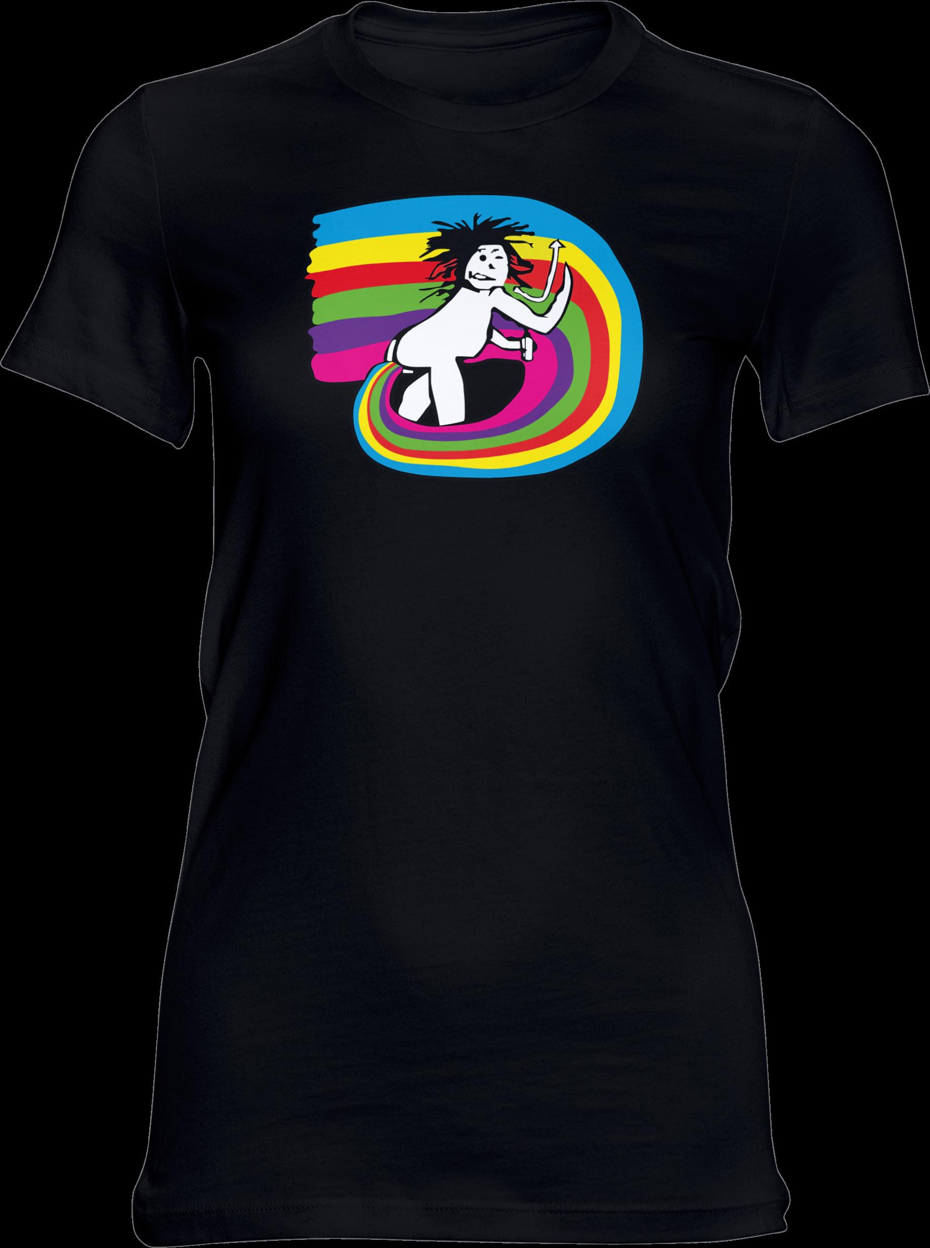 The New Shores – New Shores Feeling – Girlie-Shirt (schwarz)