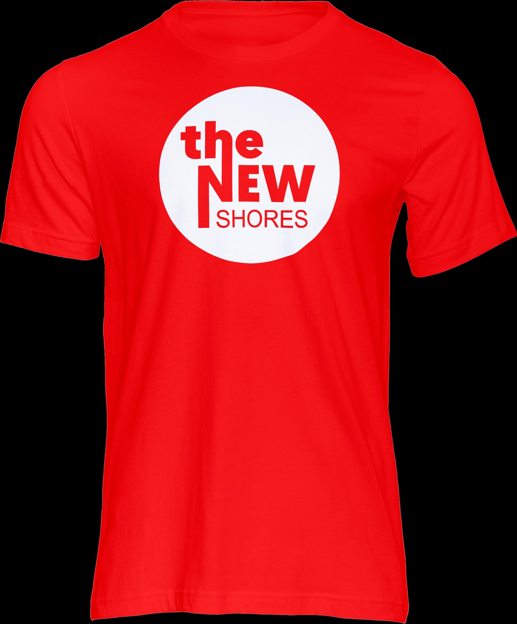 The New Shores – TNS Logo – T-Shirt (rot)