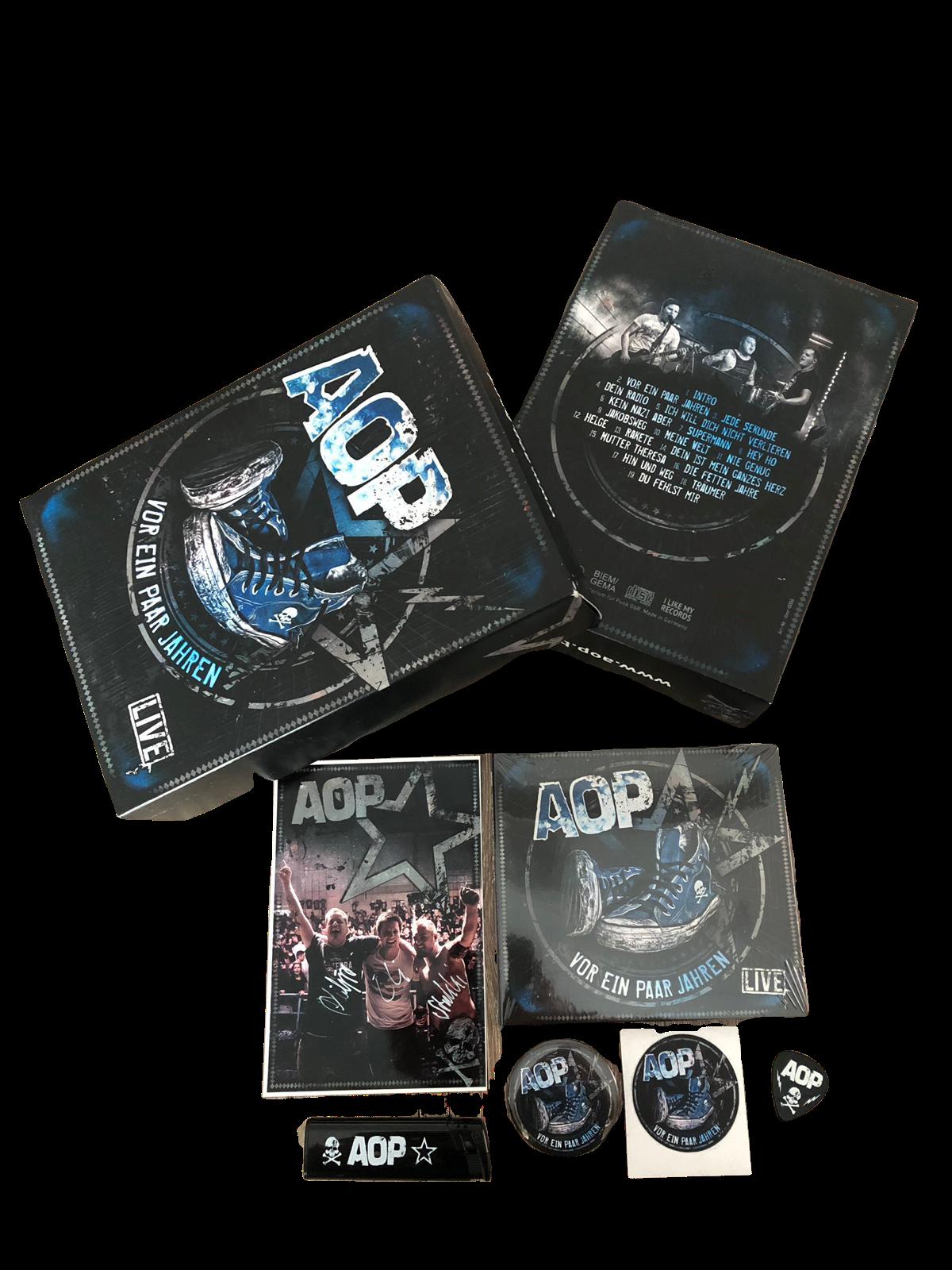 AOP – Vor ein paar Jahren – Livealbum – Deluxe Box