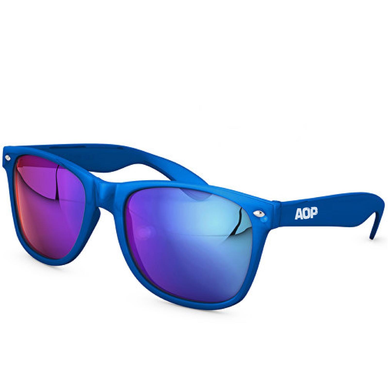 AOP – Sonnenbrille AOP Logo – blau