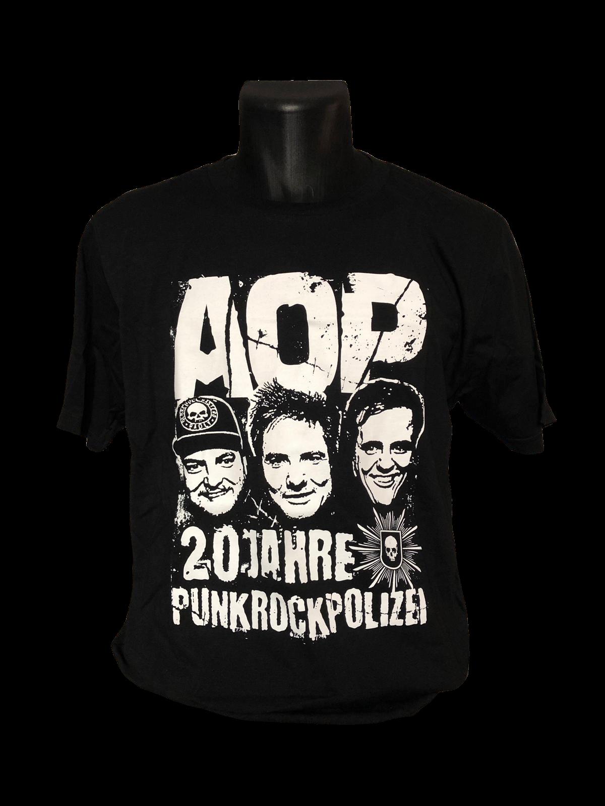 AOP – T-Shirt – 20 Jahre