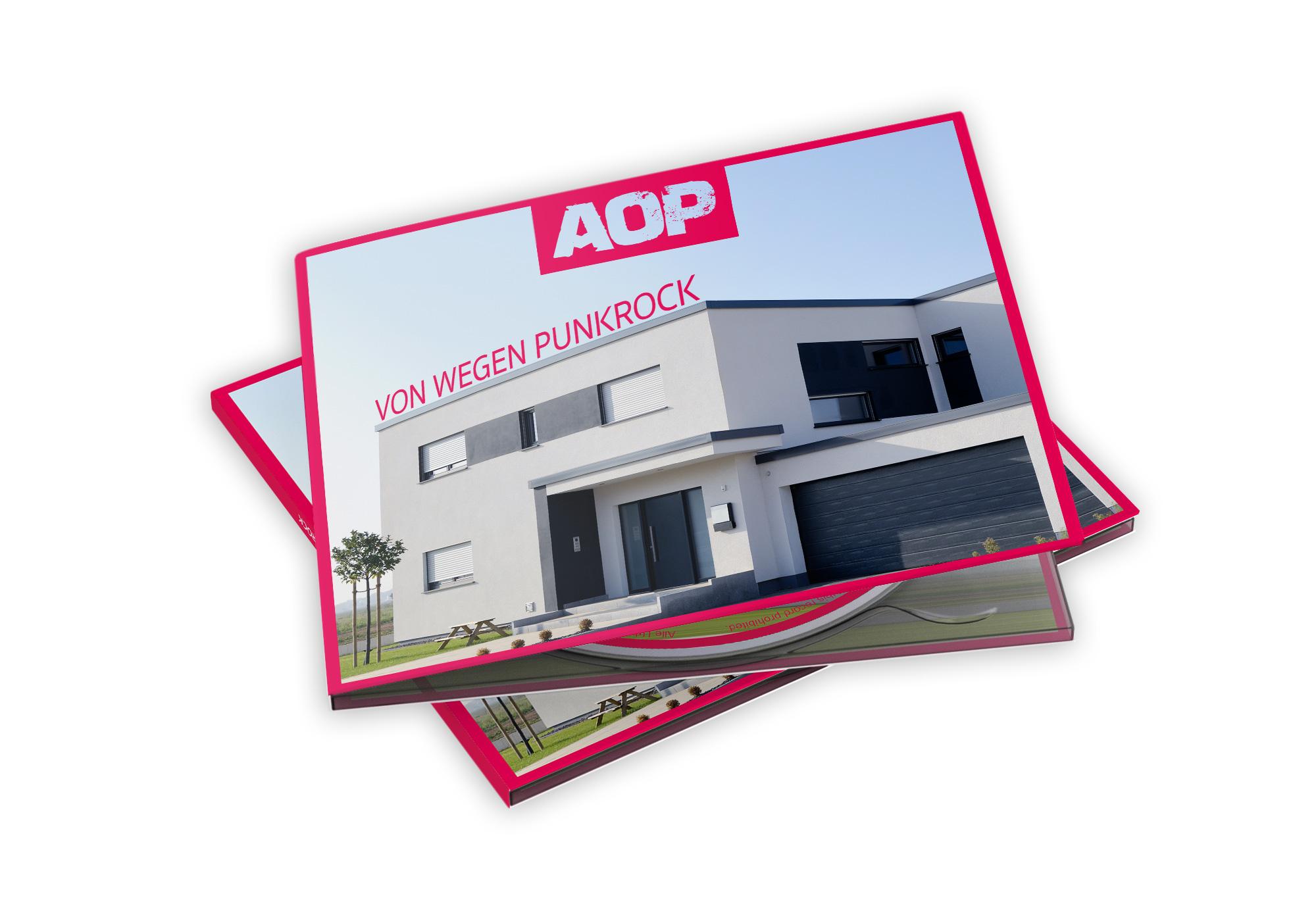 AOP – Album – Von wegen Punkrock – Digipack