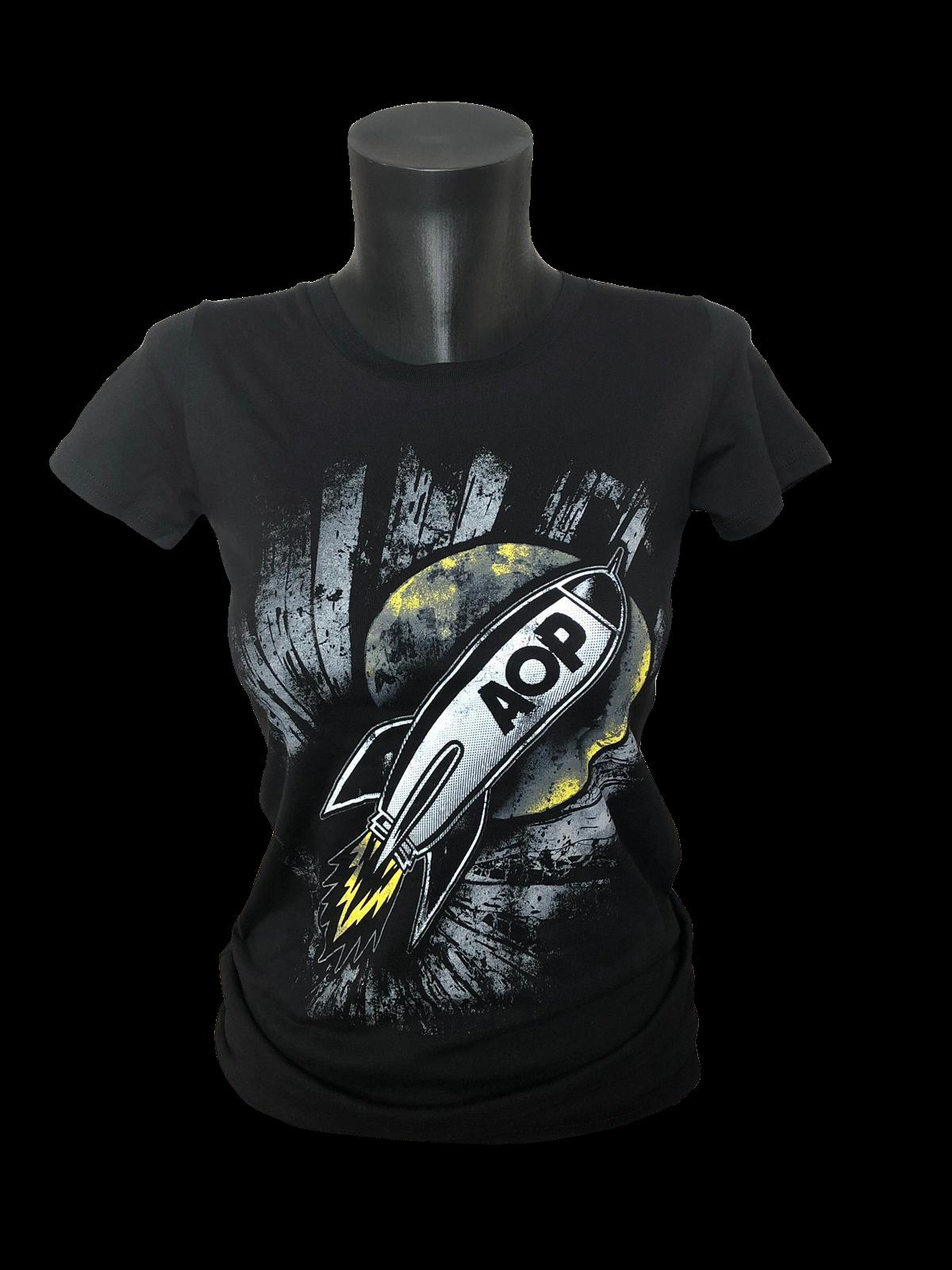 AOP – Rakete – Girlie-Shirt