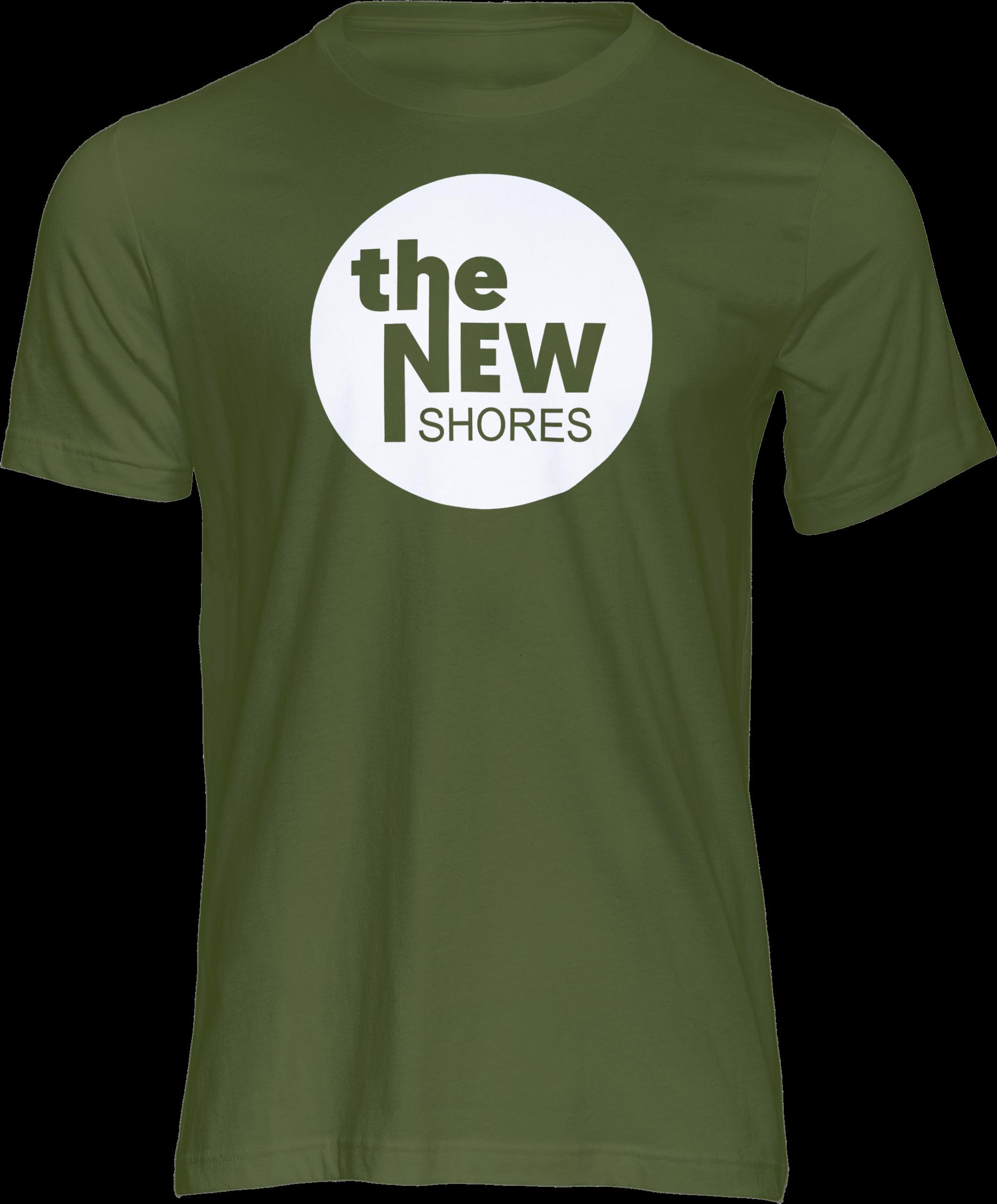 The New Shores – TNS Logo – T-Shirt (grün)
