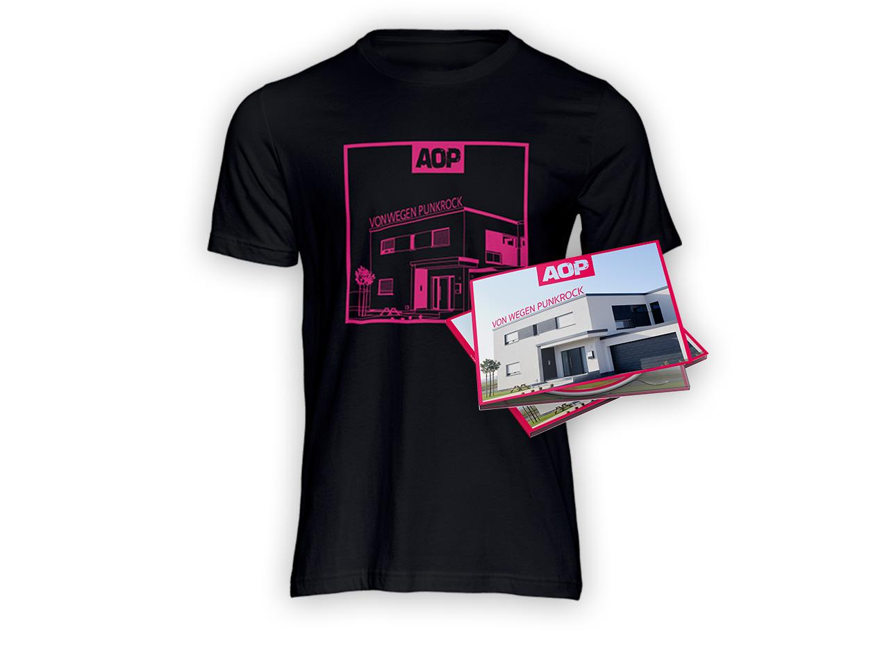 AOP – Album – Von wegen Punkrock – Digipack + T-Shirt Bundle