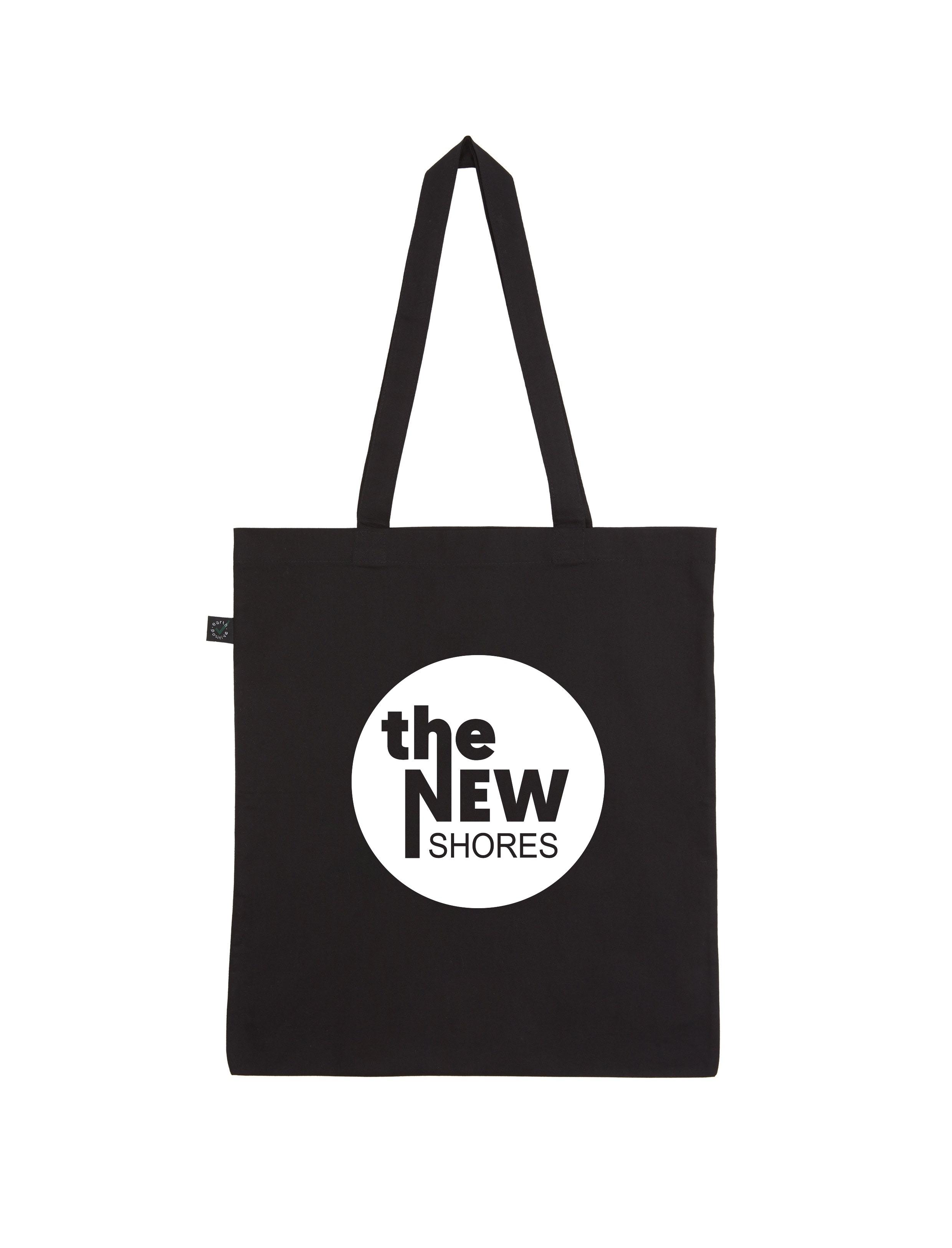 The New Shores – TNS-Logo – Shopper-Bag (schwarz)