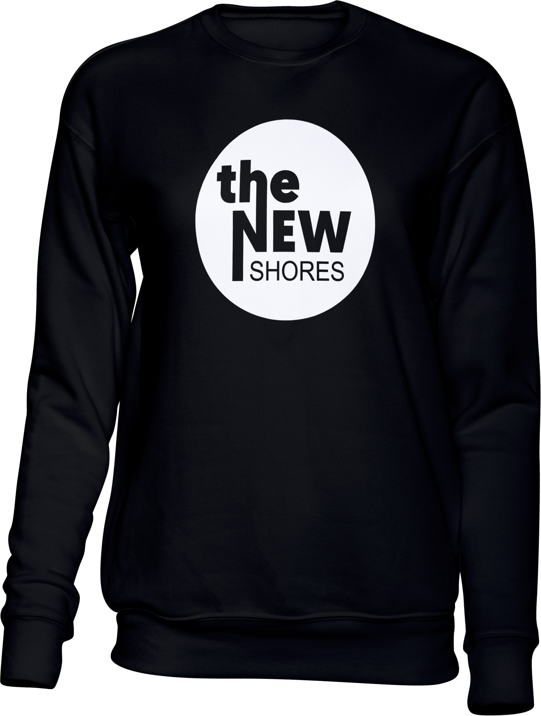 The New Shores – TNS Logo – Sweatshirt  (schwarz)