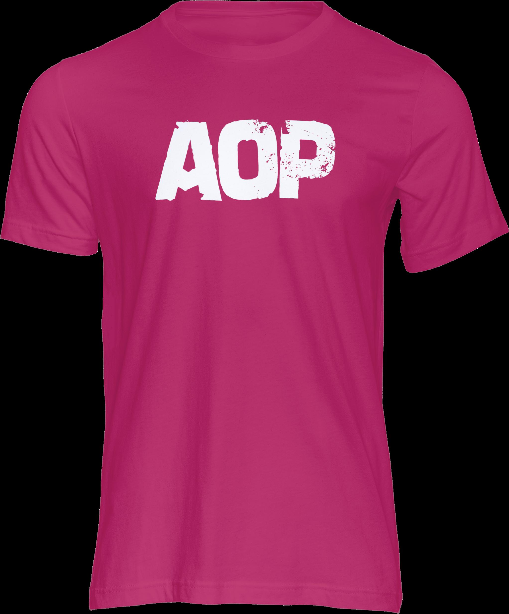 AOP – AOP Logo – T-Shirt (pink)