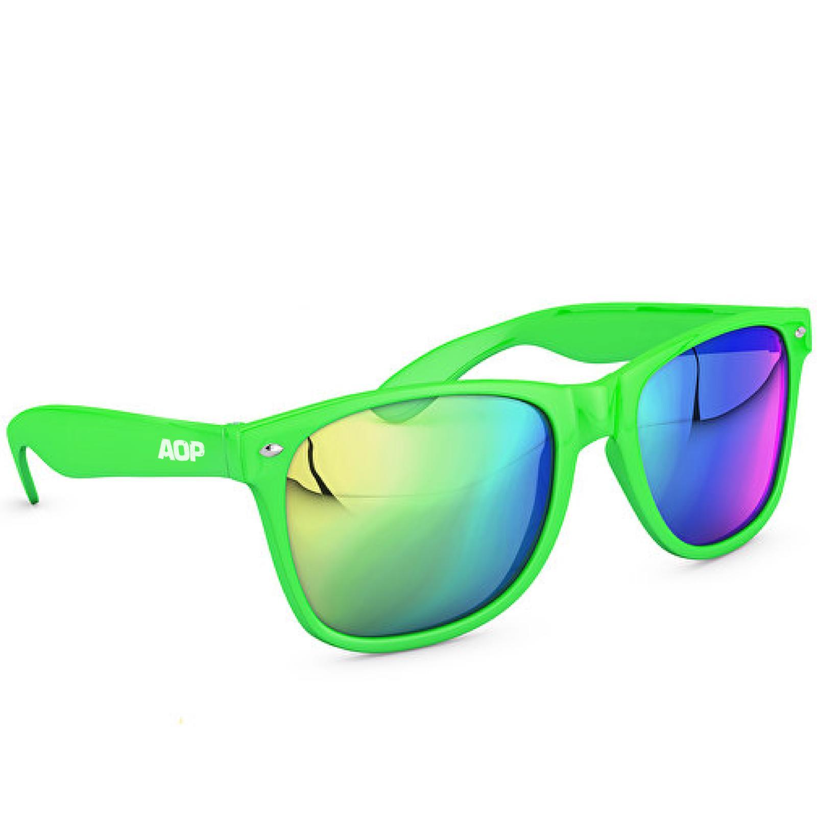 AOP – Sonnenbrille AOP Logo – grün