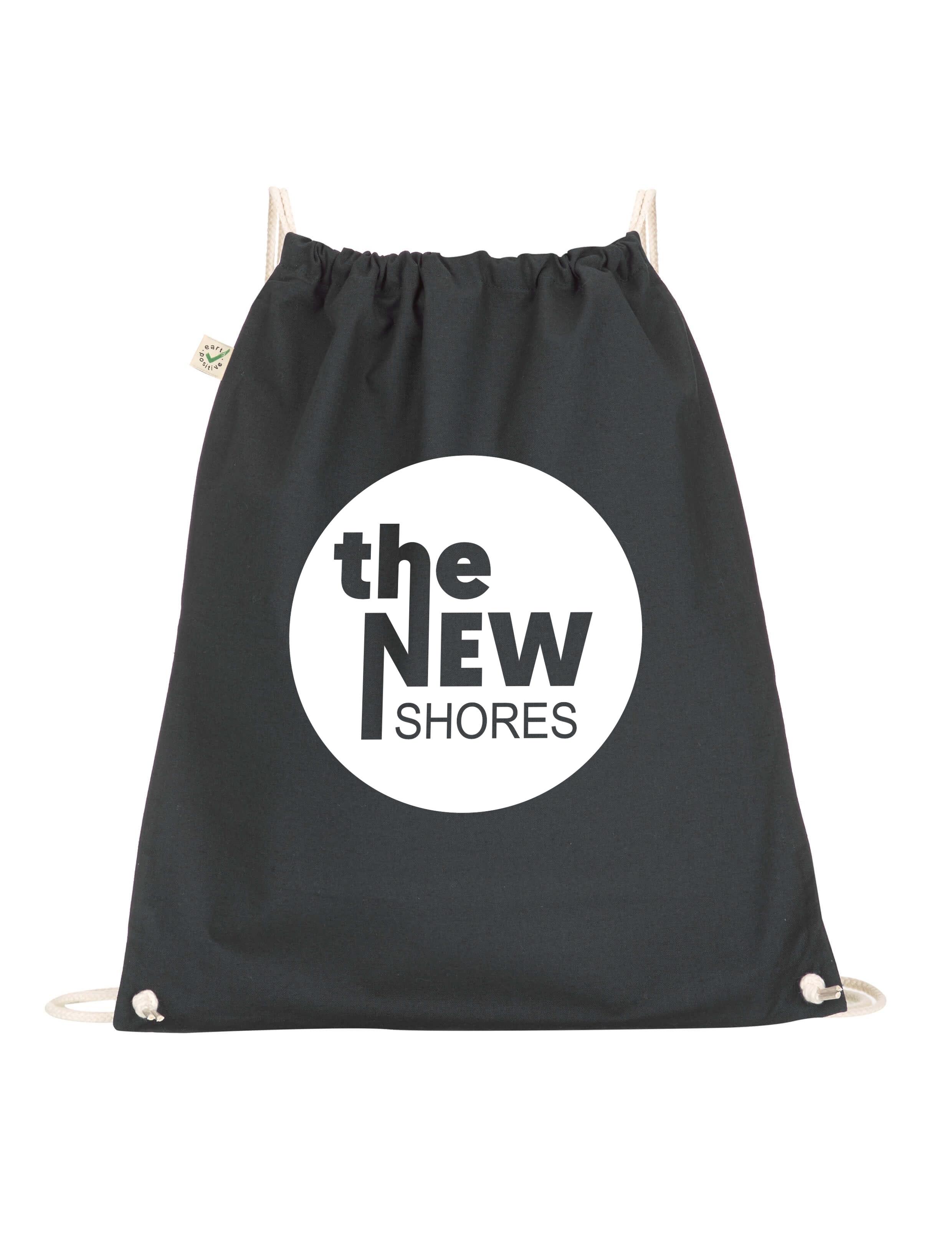 The New Shores – TNS-Logo – Gym-Bag (schwarz)
