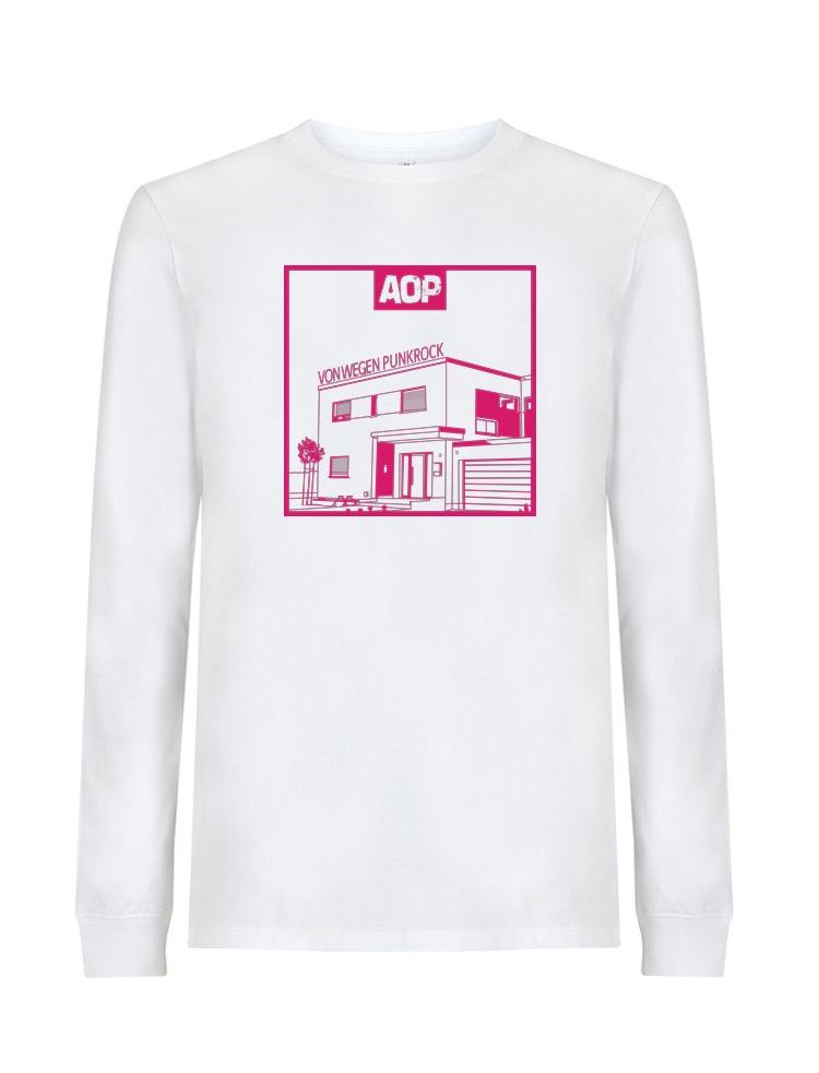 AOP – Von wegen Punkrock – Longsleeve (weiß)