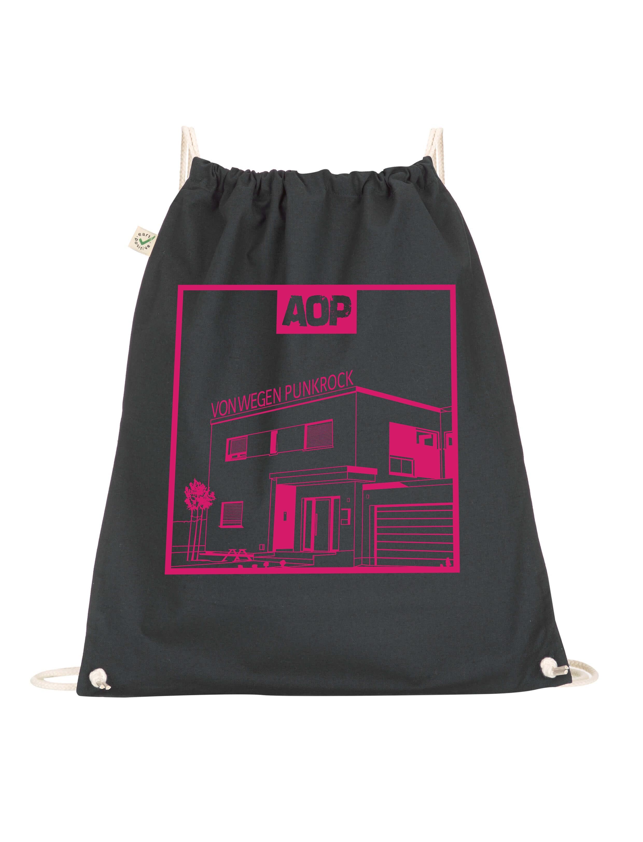 AOP – Von wegen Punkrock – Gym-Bag (schwarz)