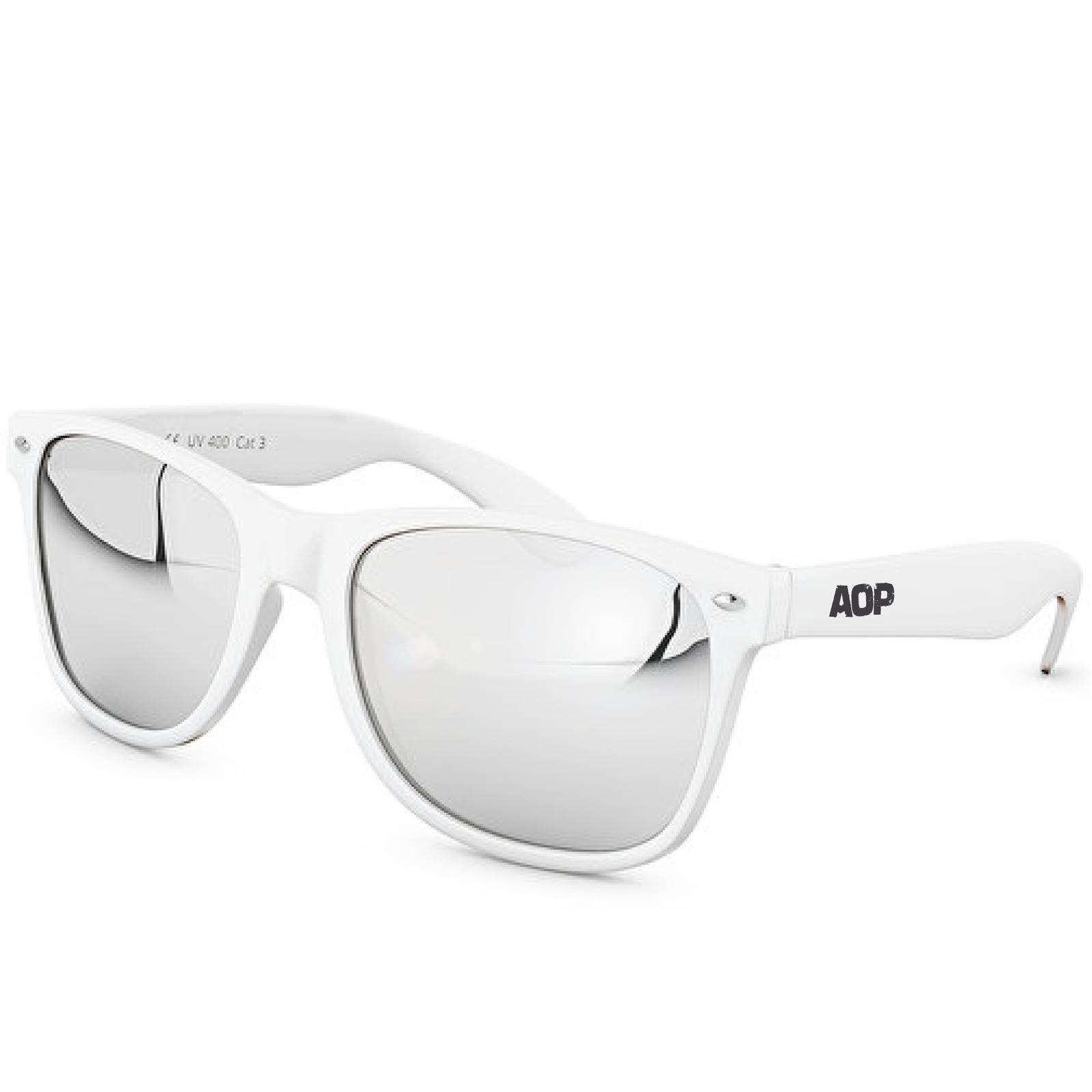 AOP – Sonnenbrille AOP Logo – weiß