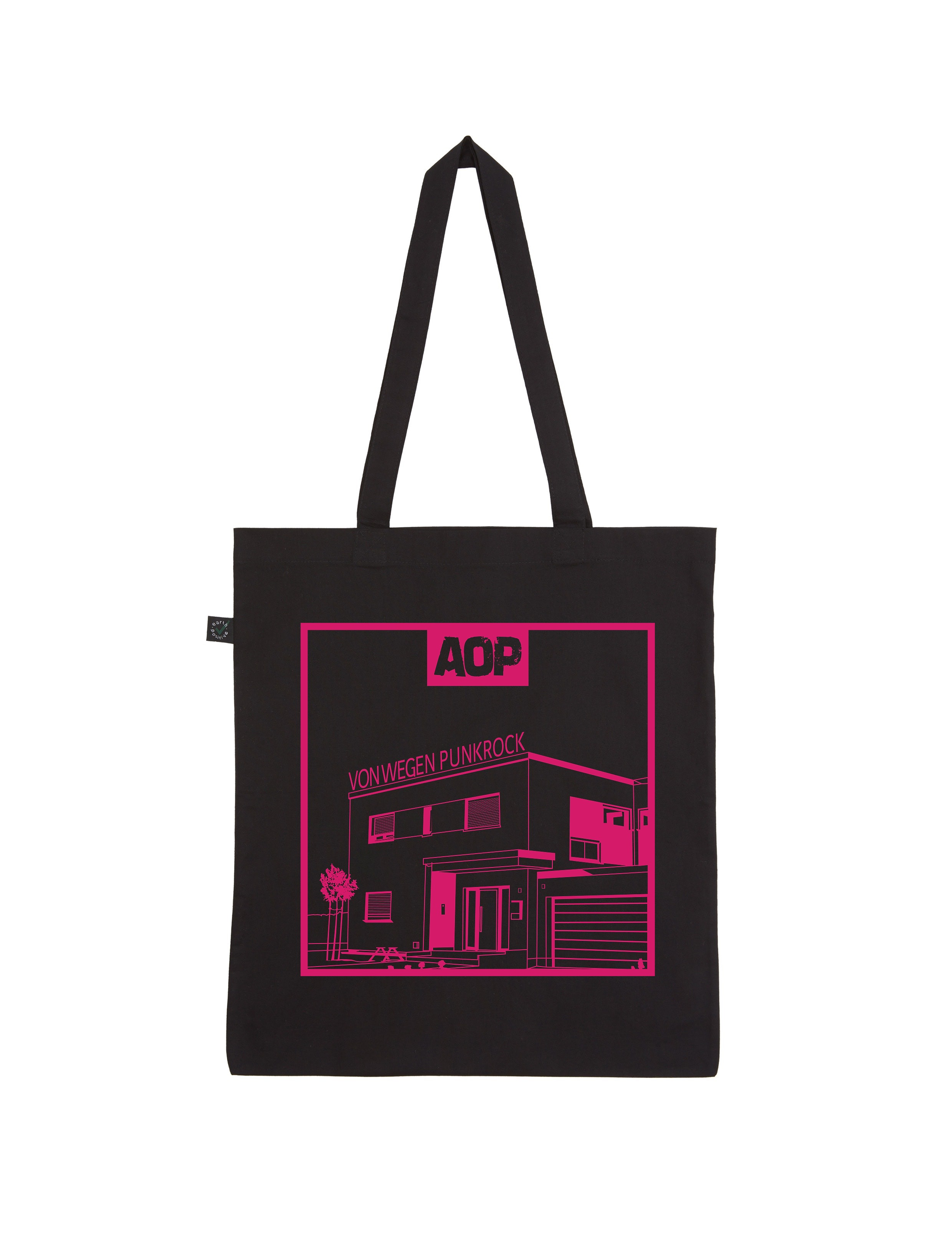 AOP – Von wegen Punkrock – Shopper-Bag (schwarz)