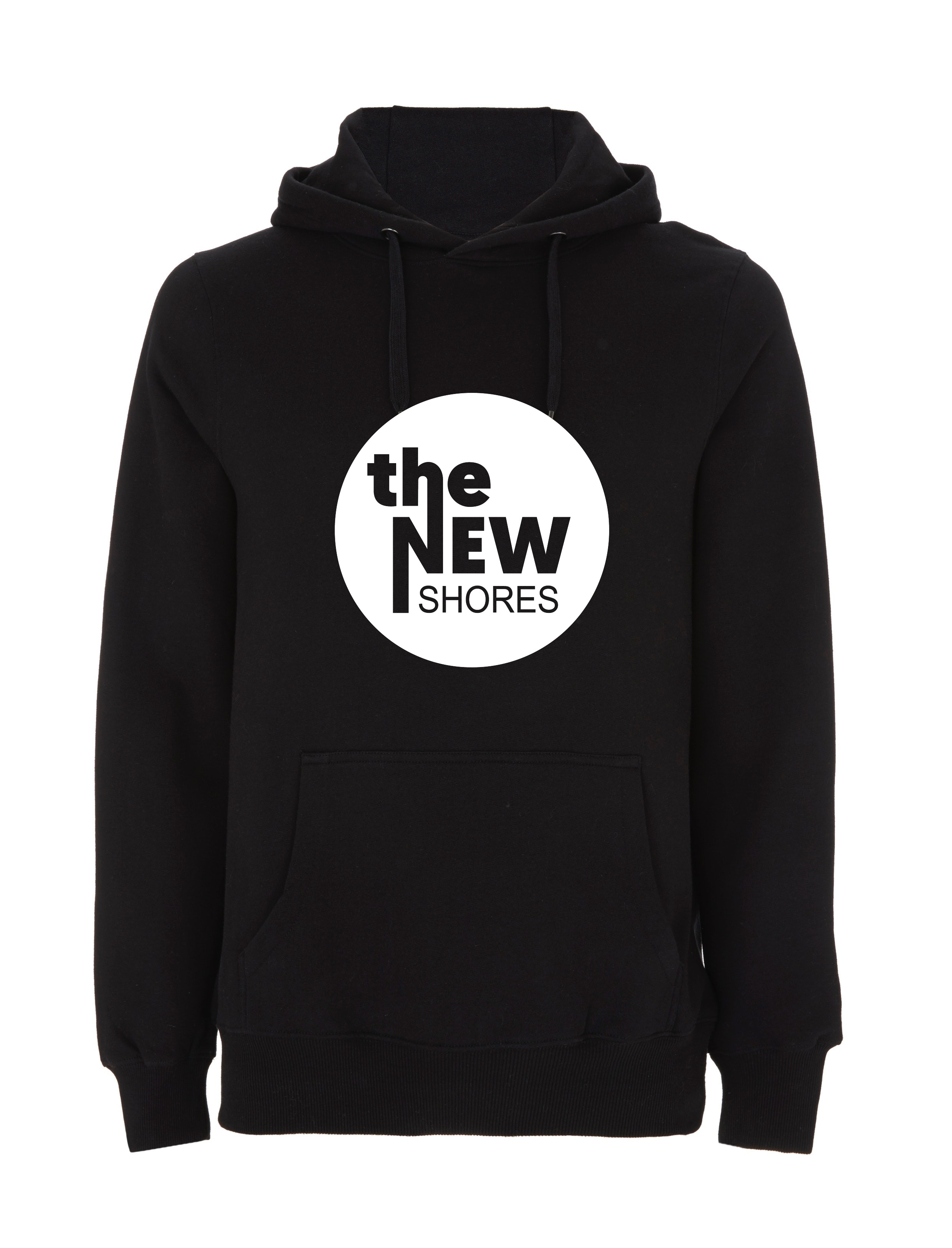 The New Shores – TNS Logo – Hoodie (schwarz)