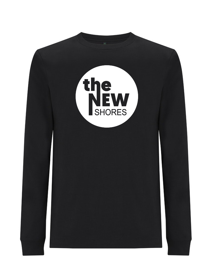 The New Shores – TNS Logo – Longsleeve (schwarz)