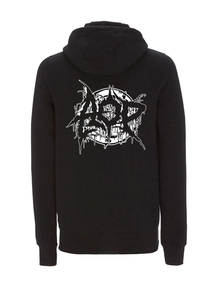 AOP – Deathmetal – Zip-Jacke (schwarz)