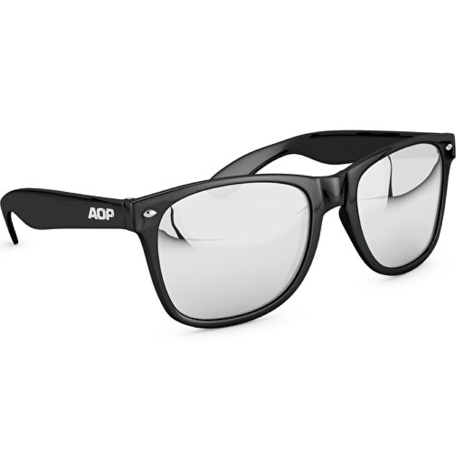 AOP – Sonnenbrille AOP Logo – schwarz