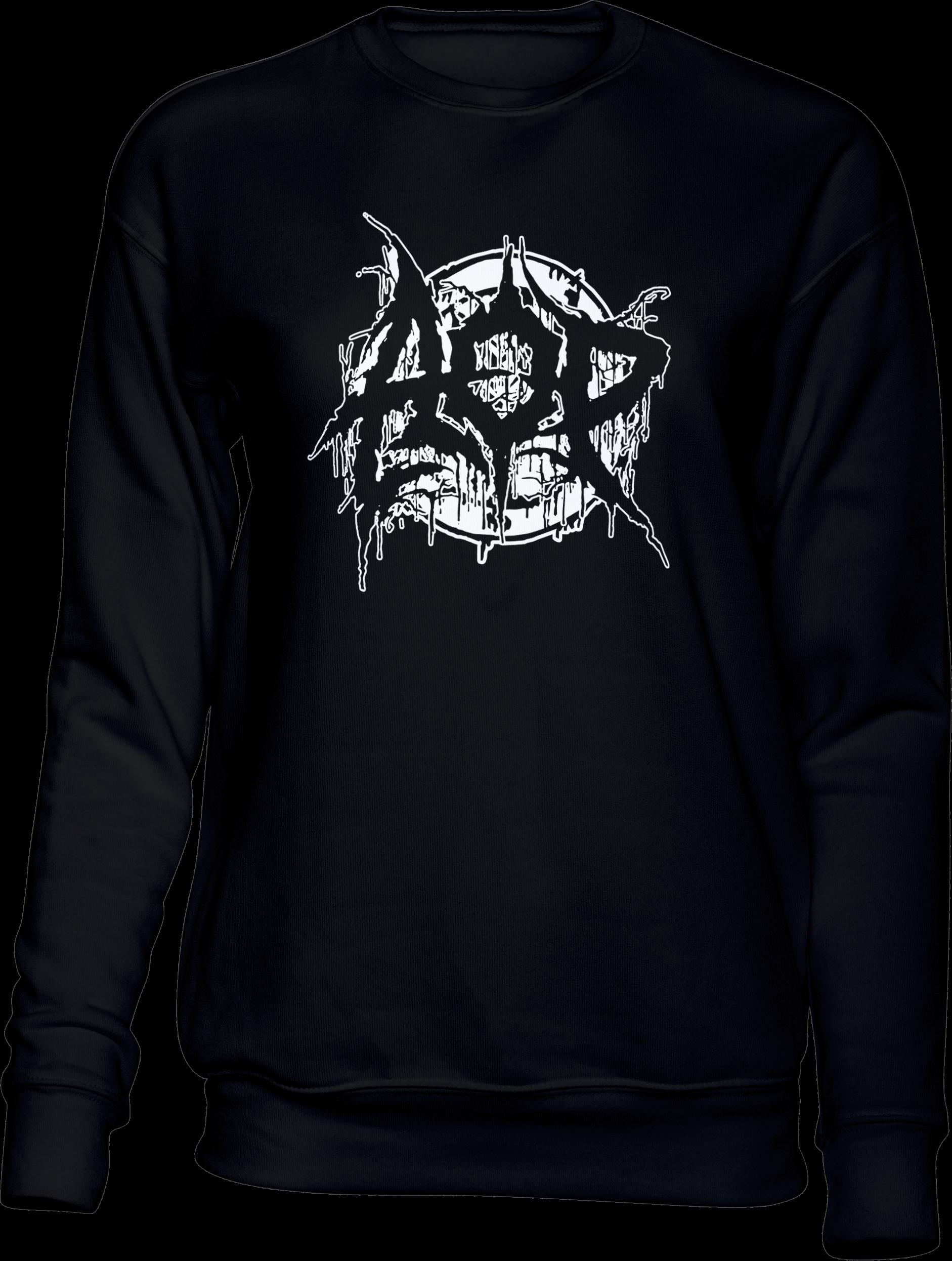 AOP – Deathmetal – Sweatshirt (schwarz)