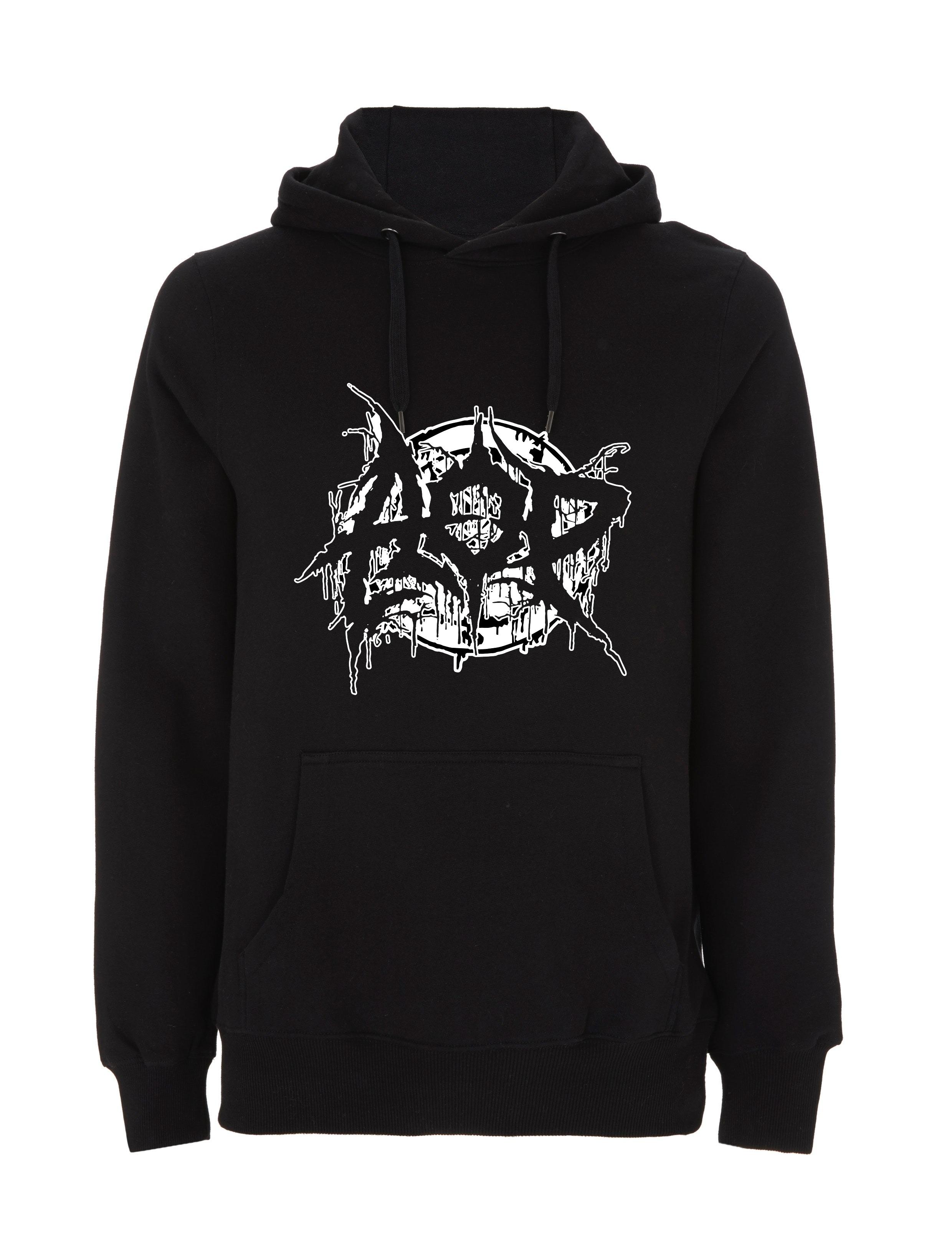AOP – Deathmetal – Hoodie (schwarz)
