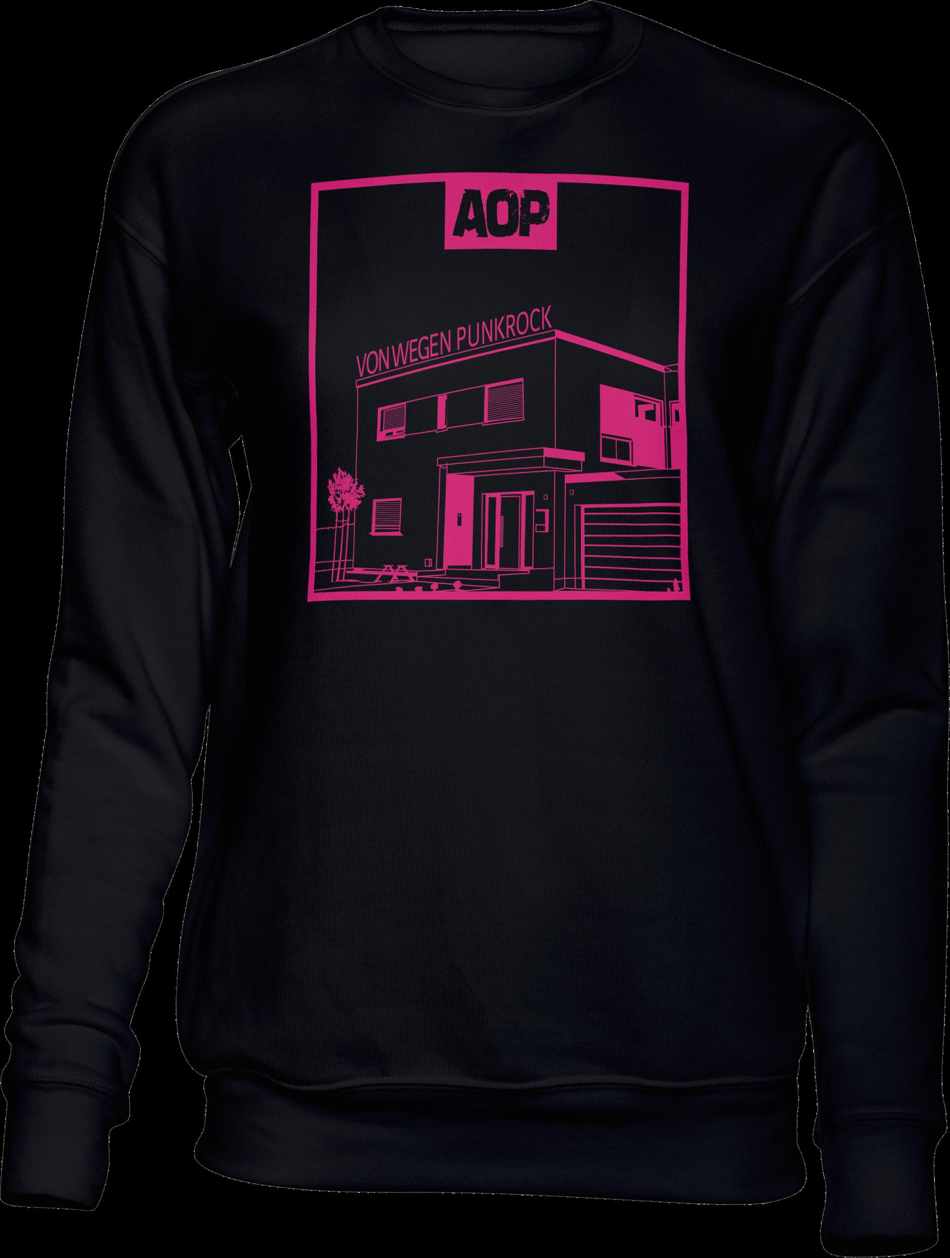 AOP – Von wegen Punkrock – Sweatshirt (schwarz)
