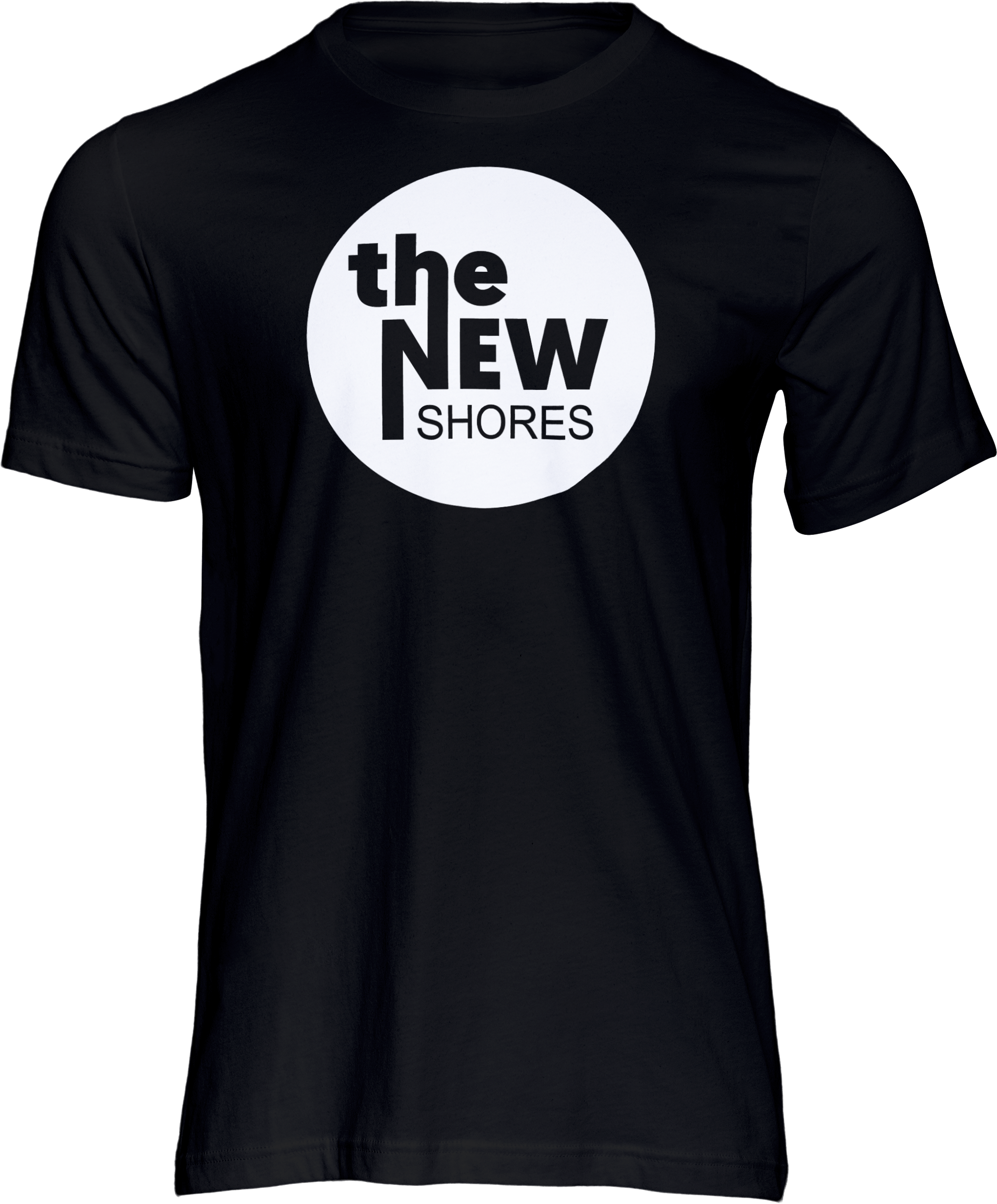 The New Shores – TNS Logo – T-Shirt (schwarz)