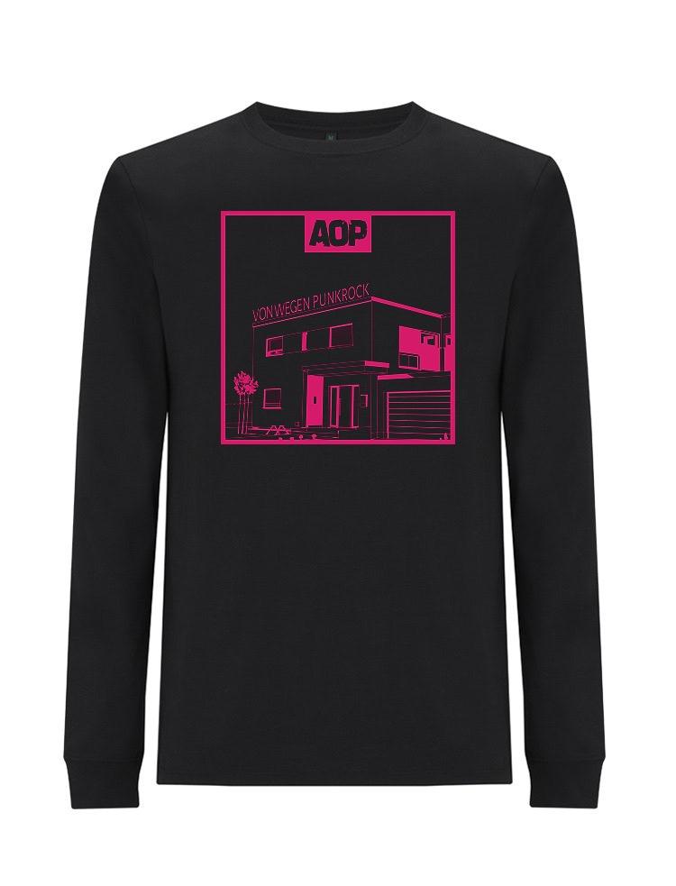 AOP – Von wegen Punkrock – Longsleeve (schwarz)